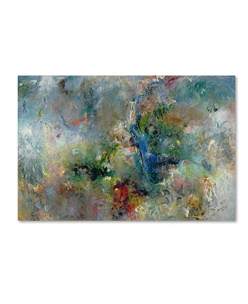 "Trademark Global Jane Deakin 'Valley of the Waterfalls' Canvas Art - 22"" x 32"""