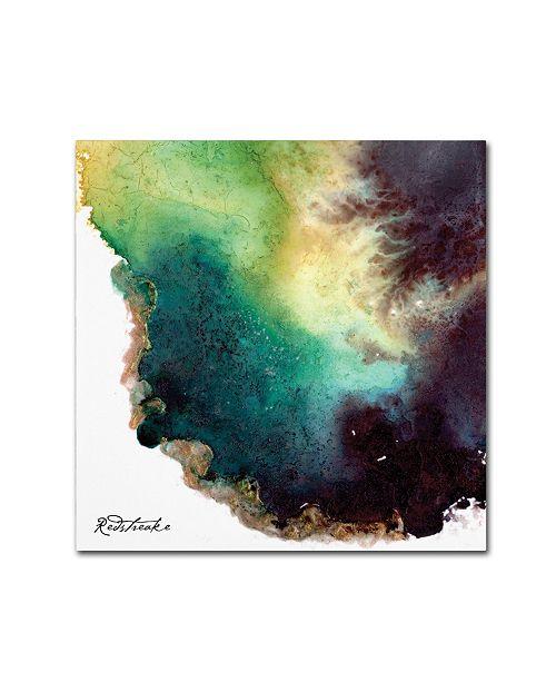 "Trademark Global Jennifer Redstreake 'Agate' Canvas Art - 35"" x 35"""