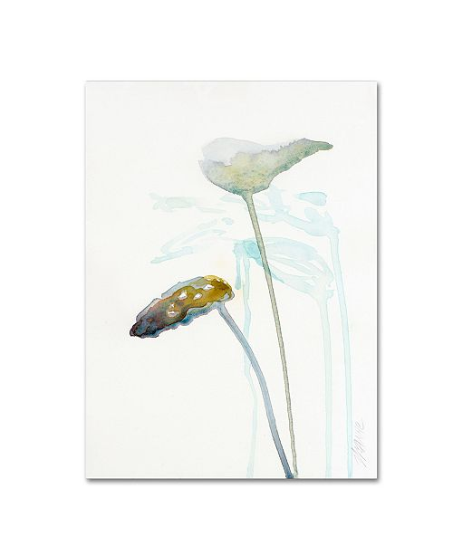 "Trademark Global Wyanne 'Botanical Study I' Canvas Art - 35"" x 47"""