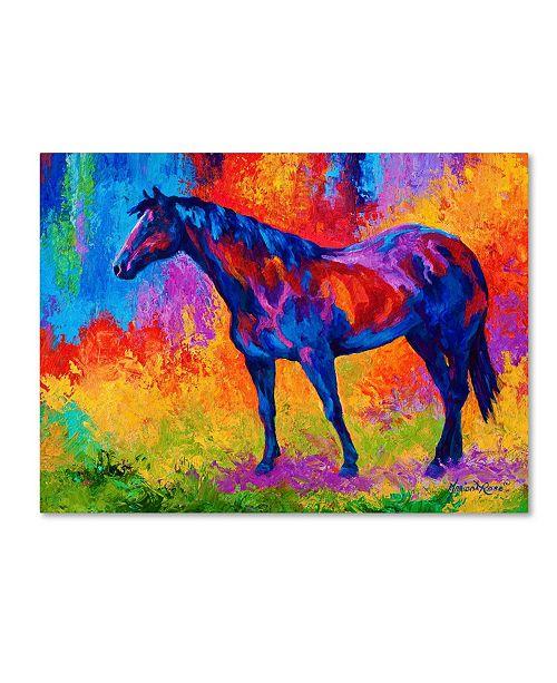 "Trademark Global Marion Rose 'Bay Mare III' Canvas Art - 24"" x 32"""
