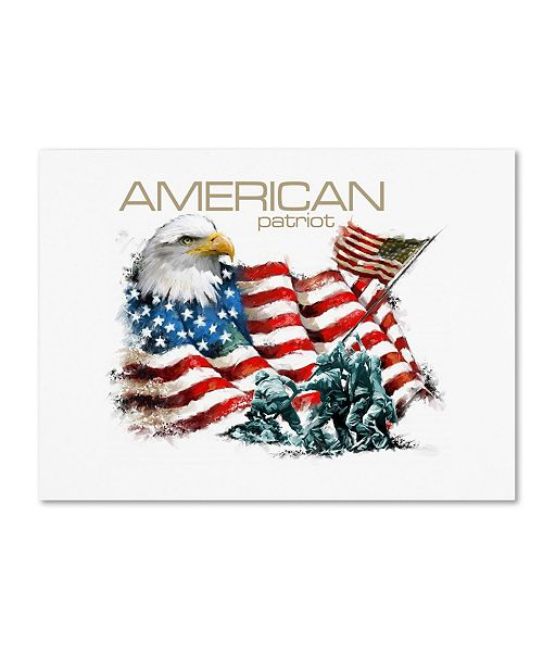 "Trademark Global The Macneil Studio 'American Patriot' Canvas Art - 35"" x 47"""