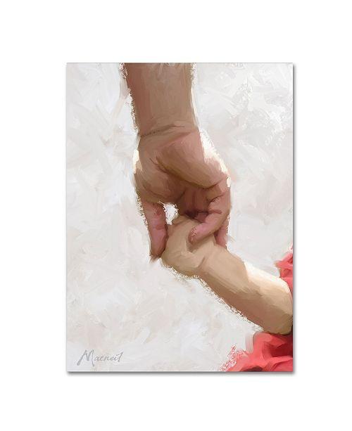 "Trademark Global The Macneil Studio 'Holding Hands' Canvas Art - 35"" x 47"""