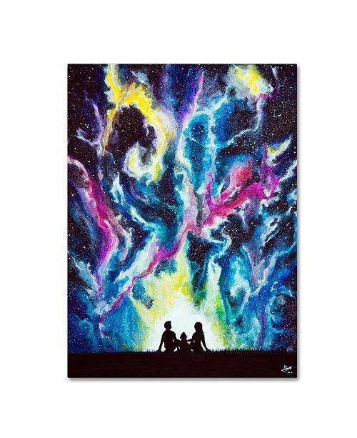 "Trademark Global Marc Allante 'Stardust' Canvas Art - 24"" x 32"""