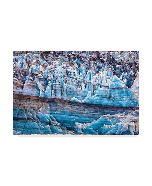 "Trademark Global Mitch Catanzaro 'Lamplugh Glacier' Canvas Art - 30"" x 47"""