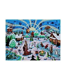 "Jake Hose 'Russian Princess' Canvas Art - 35"" x 47"""