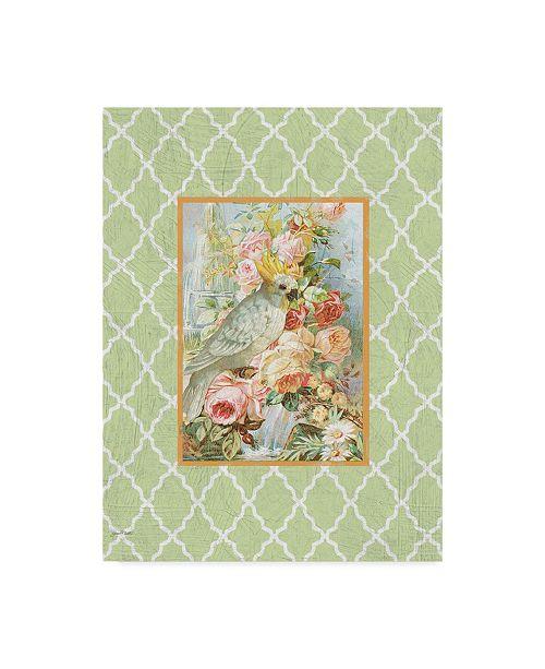 """Trademark Global Jean Plout 'Cockatiel Beauty Green' Canvas Art - 24"""" x 32"""""""