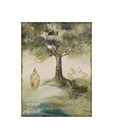 "Lisa Audit 'Hopes and Greens IV' Canvas Art - 24"" x 32"""
