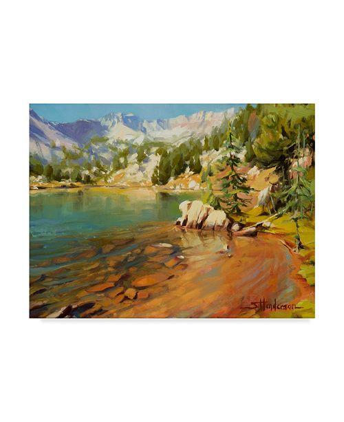 "Trademark Global Steve Henderson 'Crystalline Waters' Canvas Art - 35"" x 47"""