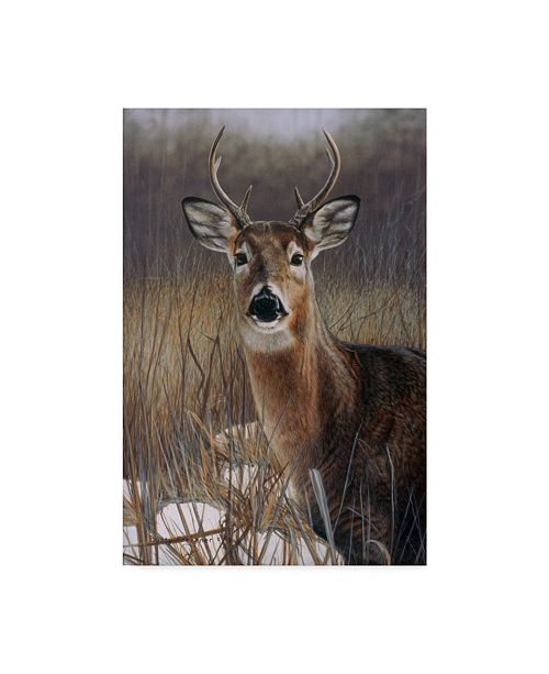 "Trademark Global Rusty Frentner 'On Guard' Canvas Art - 22"" x 32"""