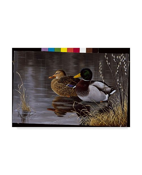 "Trademark Global Wilhelm Goebel 'Spring Morning' Canvas Art - 30"" x 47"""