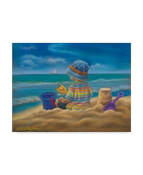 "Trademark Global Tricia Reilly-Matthews 'Time Of Wonder' Canvas Art - 24"" x 32"""