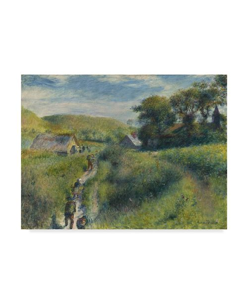 "Trademark Global Pierre Auguste Renoir 'The Mussel Harvest' Canvas Art - 24"" x 18"""