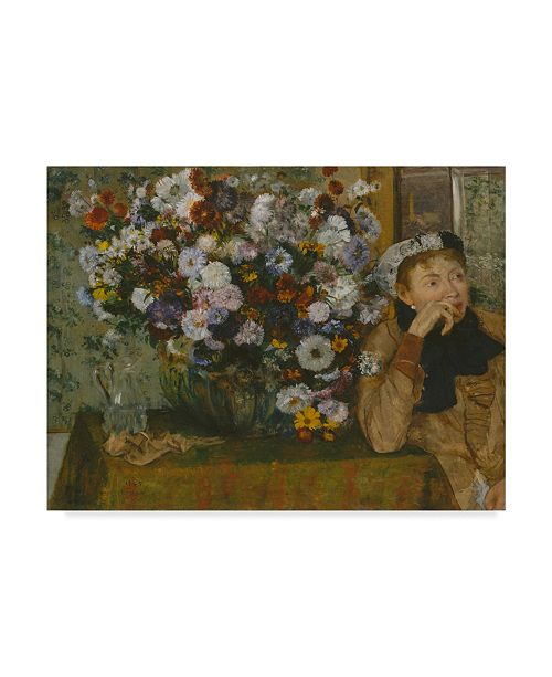 "Trademark Global Edgar Degas 'A Woman Seated' Canvas Art - 47"" x 35"""