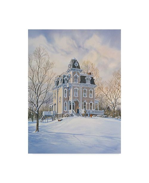 "Trademark Global Jack Wemp 'A Weekend In The Country' Canvas Art - 35"" x 47"""
