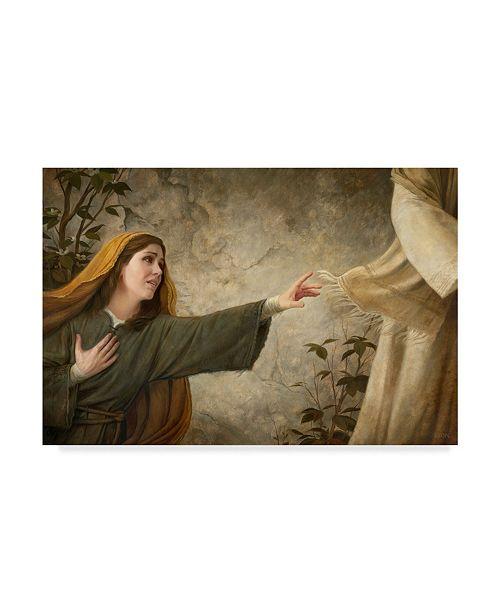"""Trademark Global Howard Lyon 'A Thread Of Faith' Canvas Art - 47"""" x 30"""""""