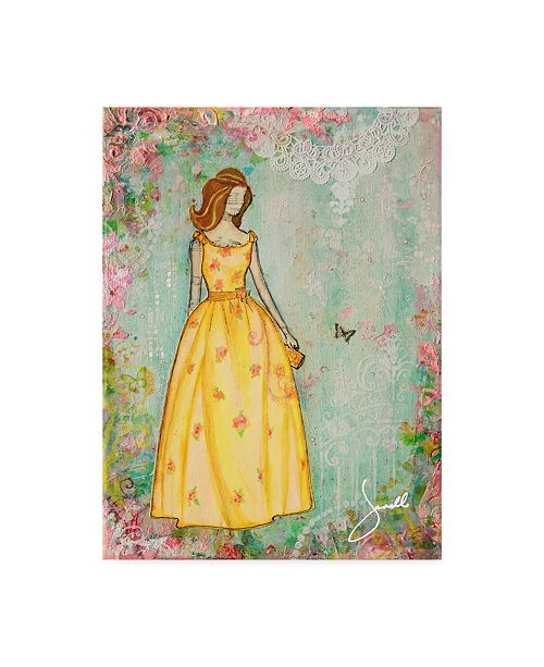 "Trademark Global Janelle Nichol 'A Charmed Life' Canvas Art - 35"" x 47"""