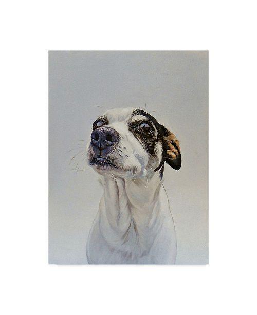 "Trademark Global James Ruby 'Maggie Dog' Canvas Art - 35"" x 47"""