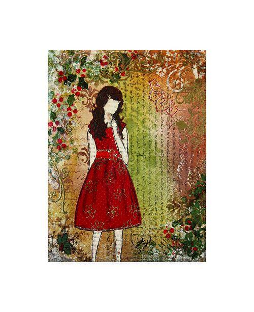"Trademark Global Janelle Nichol 'Christmas Eve' Canvas Art - 35"" x 47"""
