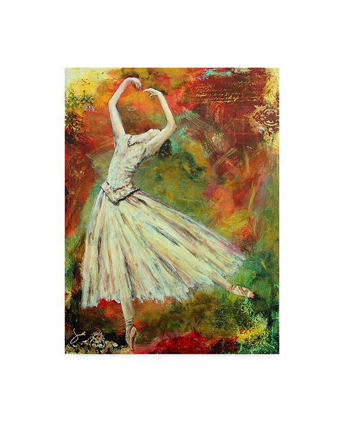"Trademark Global Janelle Nichol 'With Abandon' Canvas Art - 35"" x 47"""