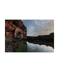 "Jason Matias 'Tide Pool Sunrise' Canvas Art - 32"" x 22"""