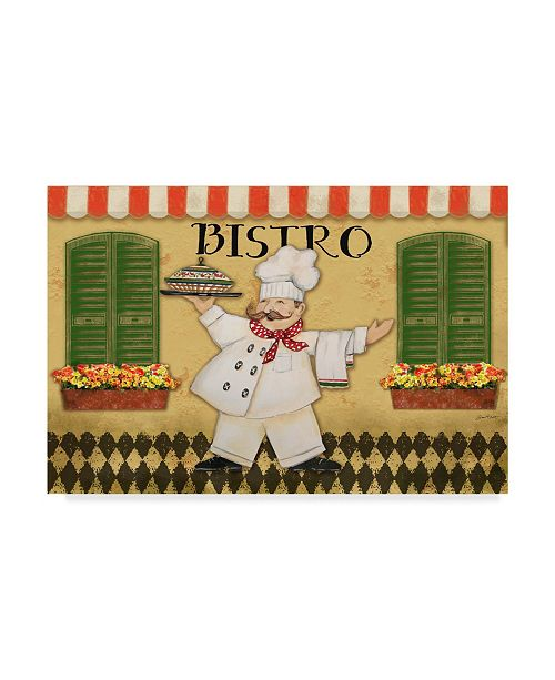 "Trademark Global Jean Plout 'Bistro Chef 1' Canvas Art - 47"" x 30"""