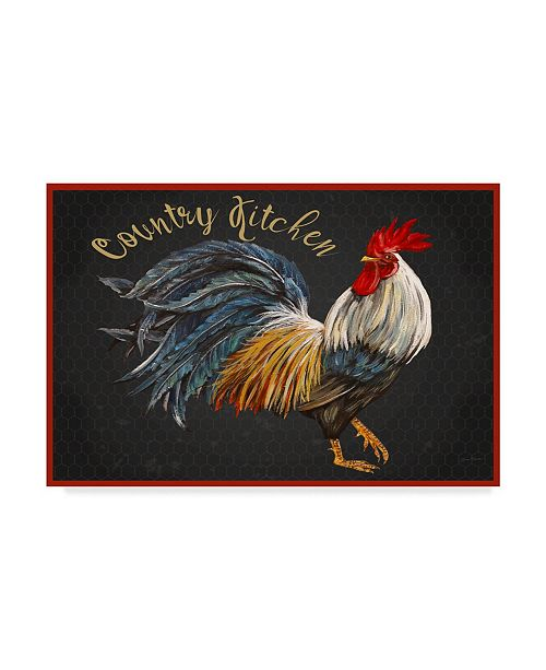 """Trademark Global Jean Plout 'Country Kitchen 1' Canvas Art - 32"""" x 22"""""""