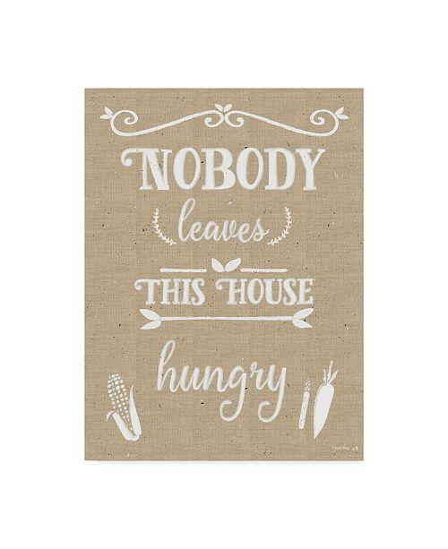 "Trademark Global Leslie Wing 'Nobody Leaves House' Canvas Art - 35"" x 47"""