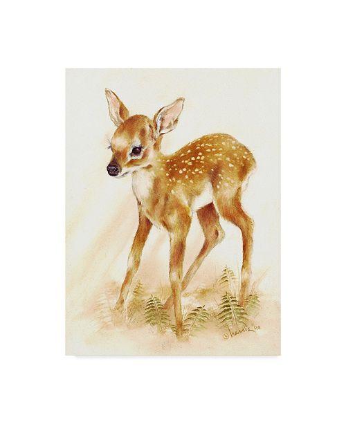 "Trademark Global Peggy Harris 'Fawn' Canvas Art - 24"" x 32"""