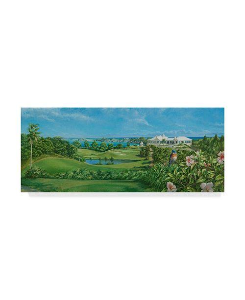 "Trademark Global Michael Jackson 'Golfcourse' Canvas Art - 47"" x 20"""
