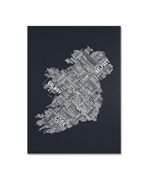 "Trademark Global Michael Tompsett 'Ireland VI' Canvas Art - 32"" x 22"""