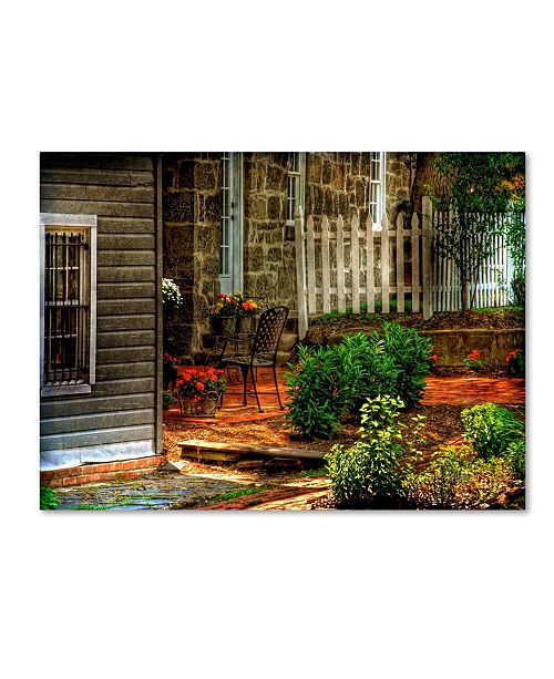 Trademark Global Lois Bryan 'A Seat In the Shade' Canvas Art