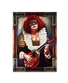 "Edgar Barrios 'Lady of Laudes' Canvas Art - 47"" x 35"""