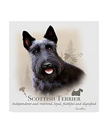 "Howard Robinson 'Scottish Terrier' Canvas Art - 14"" x 14"""