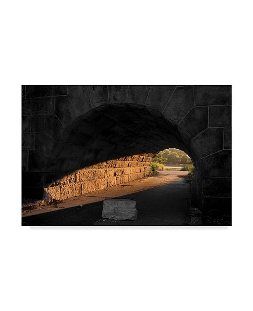 """Trademark Global NjR Photos 'Light At The End Of The Tunnel' Canvas Art - 12"""" x 19"""""""