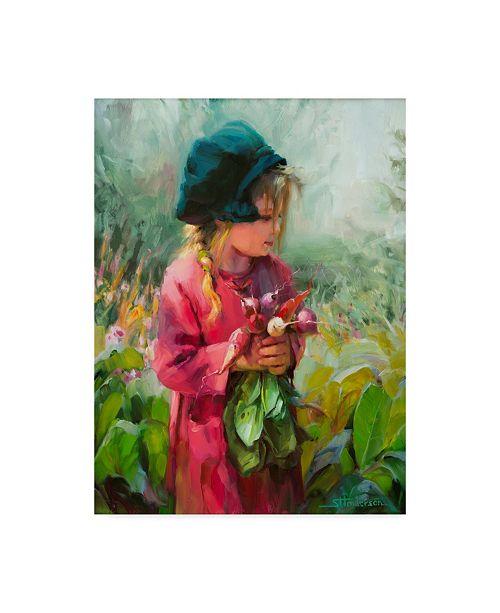 """Trademark Global Steve Henderson 'Child Of Eden' Canvas Art - 14"""" x 19"""""""