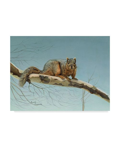 """Trademark Global Rusty Frentner 'Are You Nuts' Canvas Art - 14"""" x 19"""""""