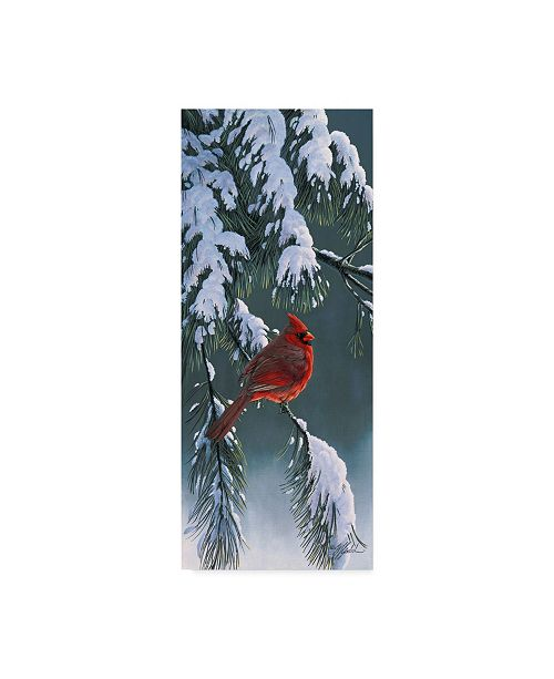 "Trademark Global Wilhelm Goebel 'The Light Of Winter' Canvas Art - 10"" x 24"""