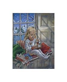 "Tricia Reilly-Matthews 'Christmas Wonder' Canvas Art - 14"" x 19"""