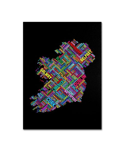 "Trademark Global Michael Tompsett 'Ireland V' Canvas Art - 14"" x 19"""