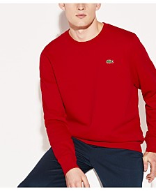Lacoste Men's Sport Crew Neck Fleece Sweatshirt