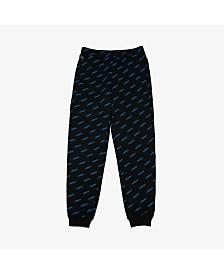 Lacoste Men's L!VE Allover Logo Track Pant