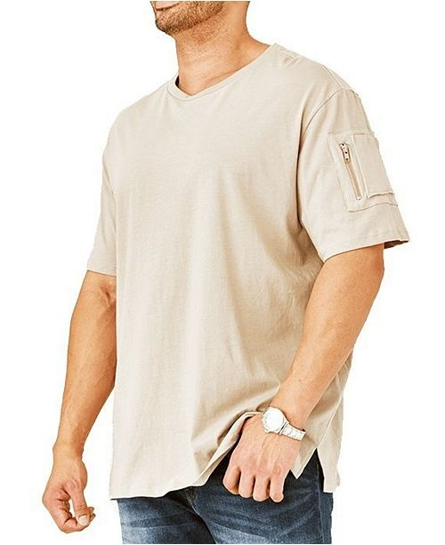 Mvp Collections By Mo Vaughn Productions MVP Collections Men's Big & Tall Cargo Pocket Tee