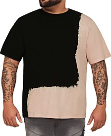 MVP Collections Men's Big & Tall Dip Dye T-Shirt
