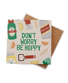 "Thirtsystone ""Be Hoppy"" Coaster"