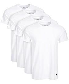 Men's 4-Pk. Cotton Crewneck T-Shirts