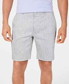 Men's Stretch Linen Shorts, Created for Macy's