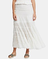 a1d3c1248c Free People Stuck In A Moment Cotton Tiered Skirt