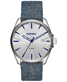 Men's MS9 Blue Denim Strap Watch 44mm