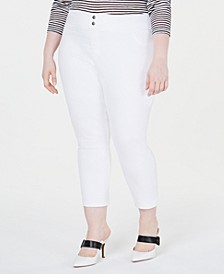 Plus Size Original Denim Capris