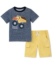 Kids Headquarters Baby Boys 2-Pc. Truck T-Shirt & Shorts Set